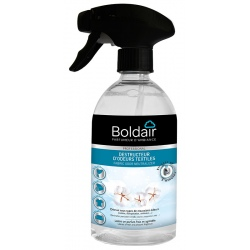 Lot de 6 pistolets Boldair destructeur d'odeurs textile 500 ml