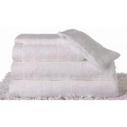 Maxi drap de bain Carline 100x150 cm 550g blanc