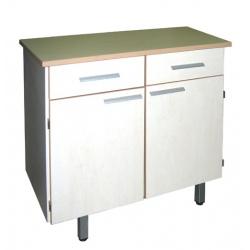 Bahut Elisa 2 portes 2 tiroirs sans vaissellier sans serrure