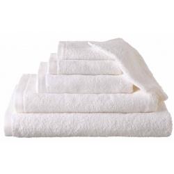 Serviette de toilette Narcisse 50x90 cm 400g blanc