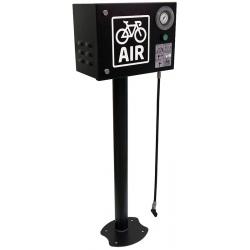 Pompe éléectrique sur pied pour vélos