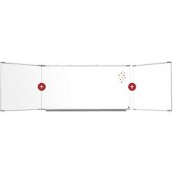 Triptyque Solution émail e3 blanc feutre H120 x L200 cm