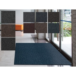 Tapis grattant et absorbant Sirocco trafic intense non feu Bfl-S1 60x90 cm