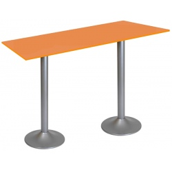 Table snack Sofia stratifié chant ABS 120 x 80 cm