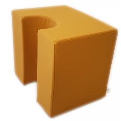 Demi pouf Vice Versa creux tissu 1