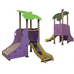 Multijeux Parc Feuille (1 à 3 ans)