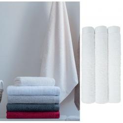 Maxi drap de bain Cléome blanc 100x150 cm 500 g