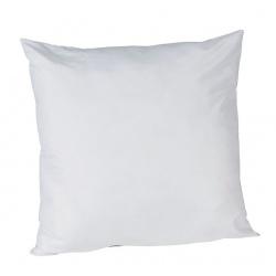 Lot de 16 oreillers Confort fibre 550 gr et tissu microfibre 60 x 60 cm