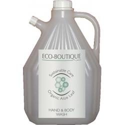 Lot de 4 recharges gel douche Eco Boutique 3 L