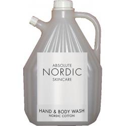 Lot de 4 recharges gel corps et mains Absolute Nordic Skincare 3L