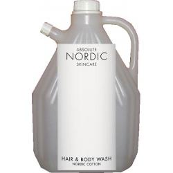 Lot de 4 recharges shampooing corps et chveux Absolute Nordic Skincare 3L