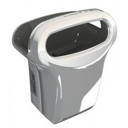Sèche-mains JVD Exp'Air automatique 1200W alu brillant