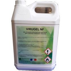 Carton de 6 bidons de gels désinfectantes Virugel 5L