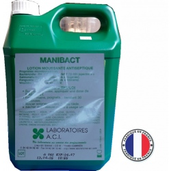 Carton de 6 bidons de lotion antiseptique pour les mains 5L
