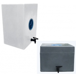 Lave mains mobile PEHD avec bouchon et robinet 60 L