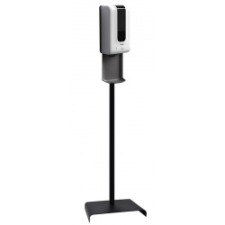 Distributeur de savon ou gel hydroalcoolique automatique 1,2 L sur poteau