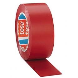 Ruban de marquage au sol adhésif Rouge 50 mm x 33 m (le lot de 6)