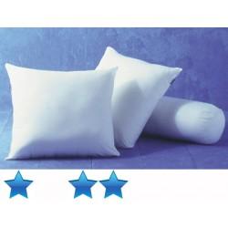 Lot de 25 oreillers 60x60 cm polycoton blanc garnissage polyester 400 g