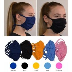 Lot de 1000 masques en tissu coloré Catégorie 1