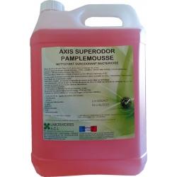 Nettoyant bactéricide multisurfaces pamplemousse Axis Superodor à diluer 5L