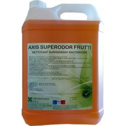 Nettoyant bactéricide multisurfaces frutti Axis Superodor à diluer 5L
