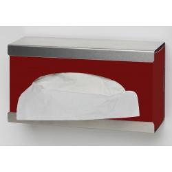 Support distributeur ouvert en inox pour boite de gants ou mouchoirs