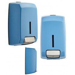 Distributeur de savon Design inox bleu 5024 1,1 l