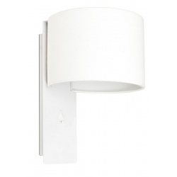 Lampe applique Fold blanche