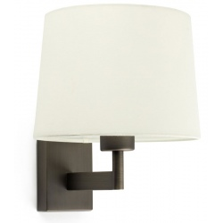 Lampe applique Artis bronze (sans l'abat-jour)