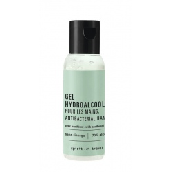 Lot de 300 gels hydroalcooliques Spirit of Travel en flacon 35 ml