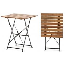Table pliante Bistro 60 x 60 cm
