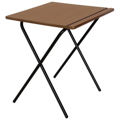 Table d'examen pliante plateau MDF 60 x 60 cm