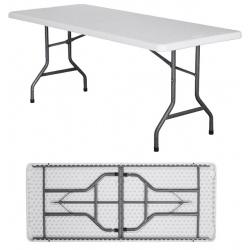 Table pliante polyéthylène Nîmes L183 x P76 x H74 cm