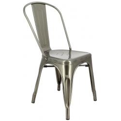 Lot de 4 chaises métal Chicago