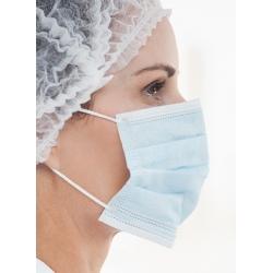 Boite de 50 masques chirurgicaux 3 plis bleu type II R
