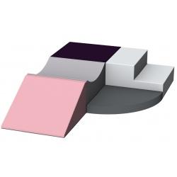 Motricité d'angle 5 modules ZEN H 20 cm