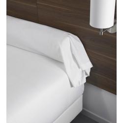 Housse de couette 100% coton blanc 125 g 235x270 cm (le lot de 10)