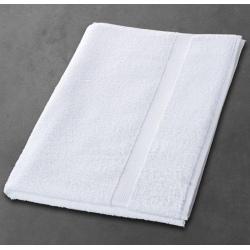 Maxi drap de bain Luxe 100% coton blanc 500 g 100x150 cm (le lot de 3)