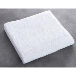 Maxi drap de bain Olympe 100% coton blanc 550 g 100x150 cm (le lot de 2)