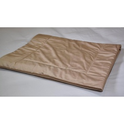 Plaid déco tissu Elvis taupe 60x150 cm (le lot de 4)