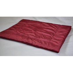 Plaid déco tissu Elvis rubis 60x150 cm (le lot de 4)
