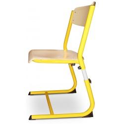 Chaises scolaires Hortense réglable appuie sur table