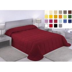 Lot de 10 couvre lits  matelassé Carla 280x260 cm dessous blanc ouatinage 150gr m2