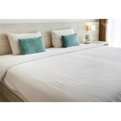 Lot de 100 taies sacs coton blanc 50x75cm + 20 cm