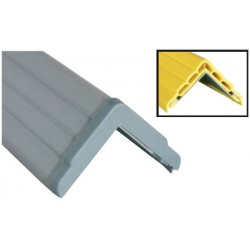 Antichoc d'angle mural 60x50 EP 13 mm Anglisol® sur alu L200 cm