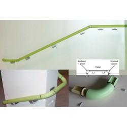 Embout pour escalier universel main courante bactéricide norme ERP