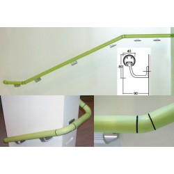 Console murale alu de main courante bactéricide norme ERP