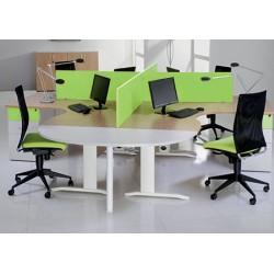 Bureau Office compact 160 cm retour à droite