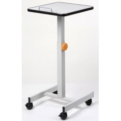 Table de projection mobile réglable en hauteur L39xH105 cm