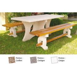 Table de pique nique Malaisie 190 cm